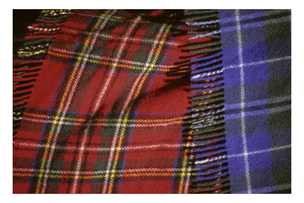 Scotland—Edinburgh—Tartans (plaids)
